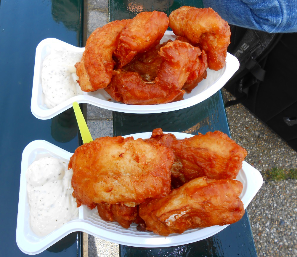 Frischer Kibbeling in Holland