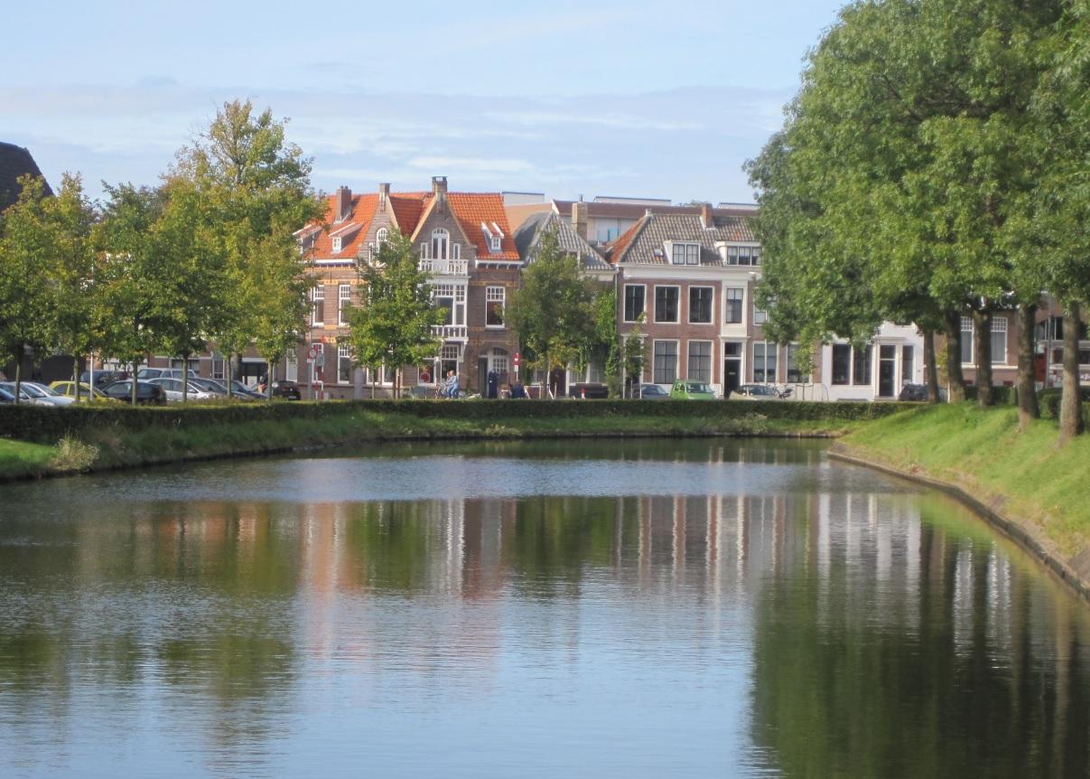 Landschaft der Niederlande