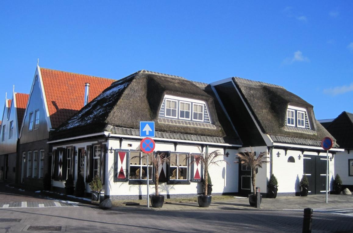 Schöne Häuser in Holland