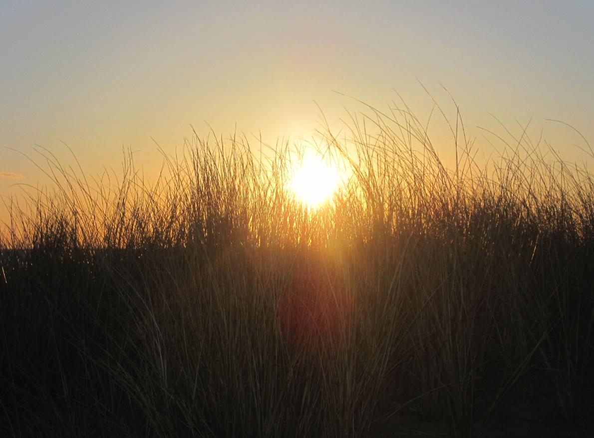 Sonnenuntergang in den Niederlanden