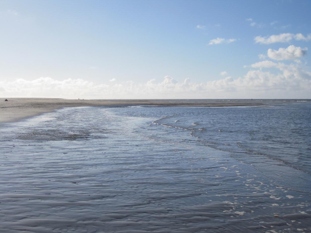 Strand in Holland an der Nordsee