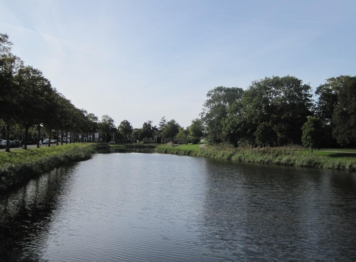 Wasserflächen in Holland