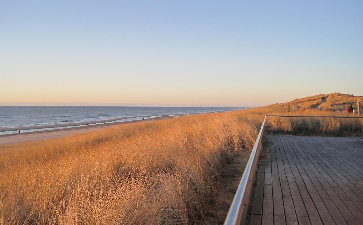 Küste in Holland in den Niederlanden