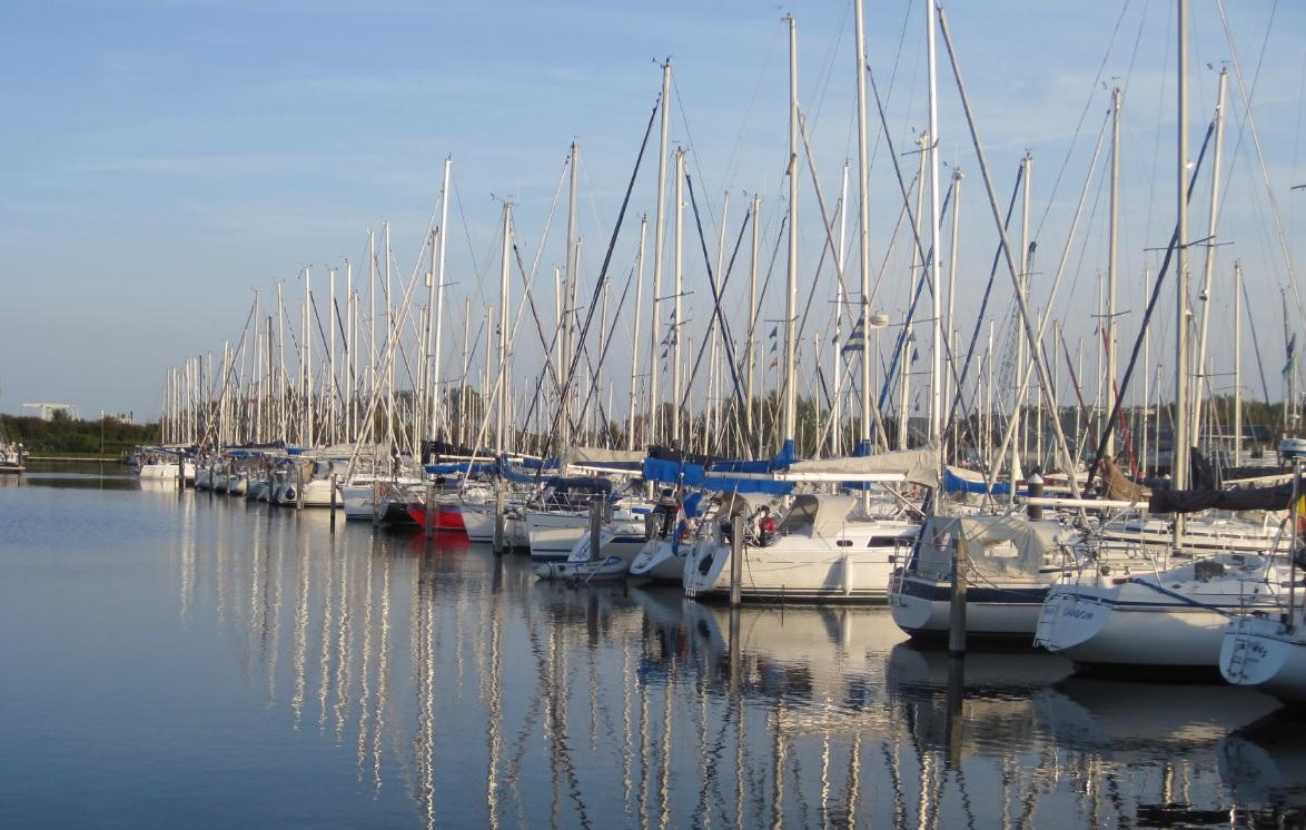 Segelhafen in Holland