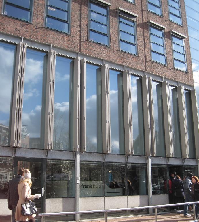 Eingang Anne Frank Haus