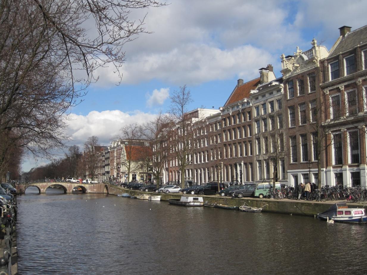 Grachten im Zentrum von Amsterdam