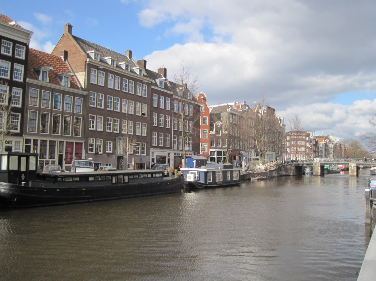 Grachten in Holland