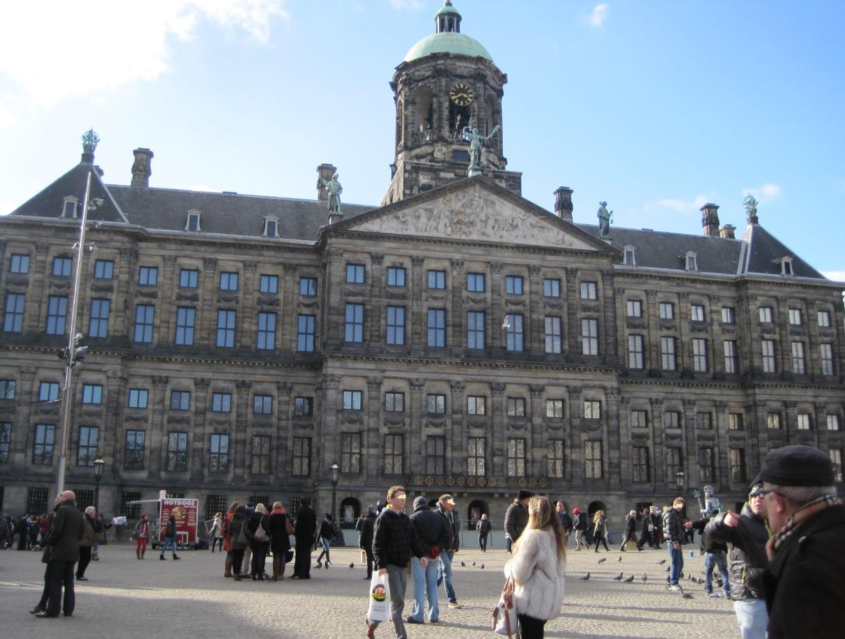 Königspalast in Amsterdam