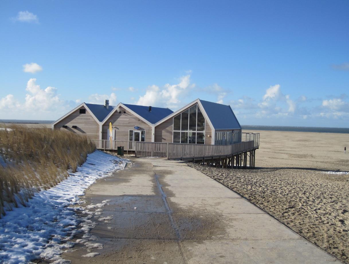 Strandblick auf Texel