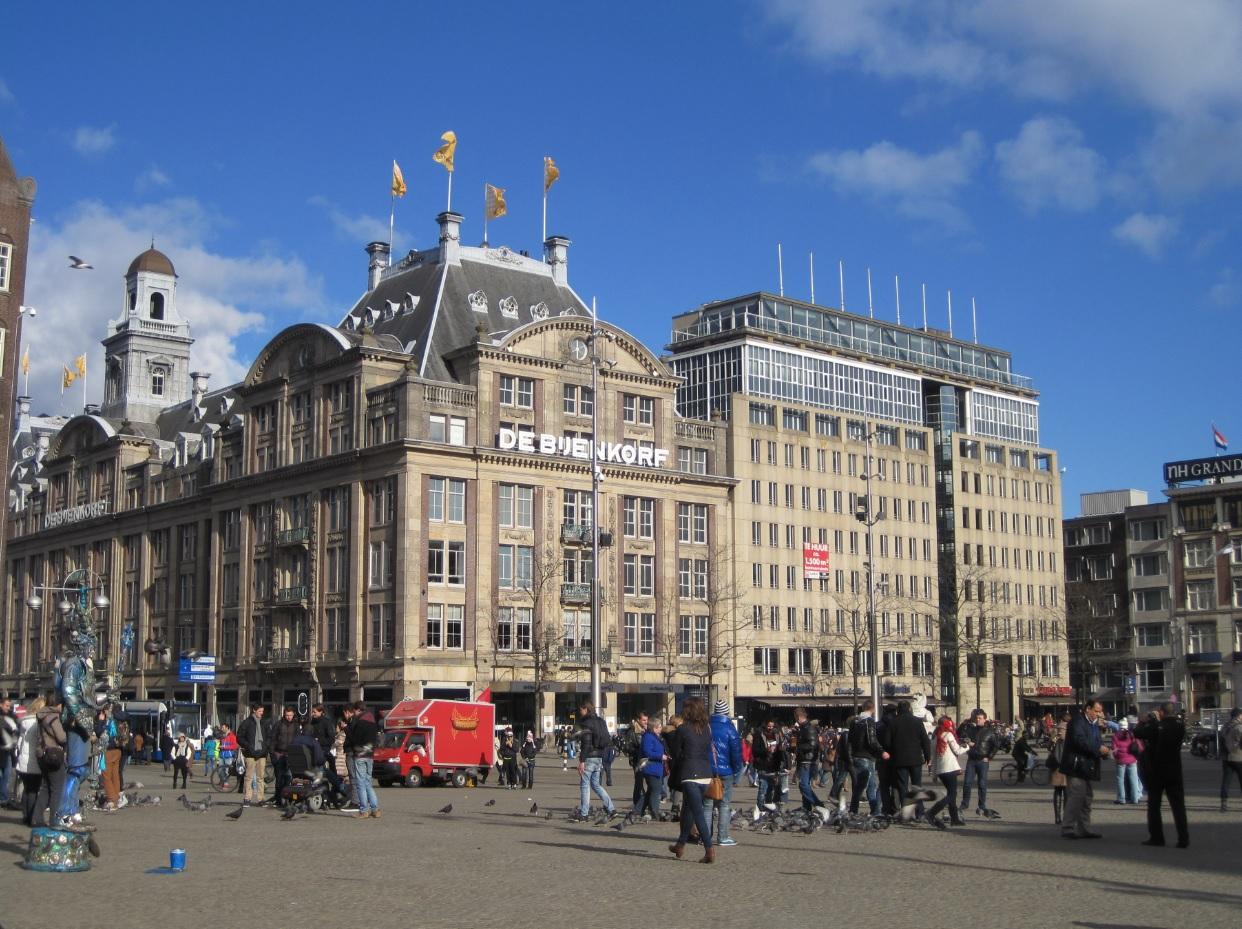 Zentrum von Amsterdam