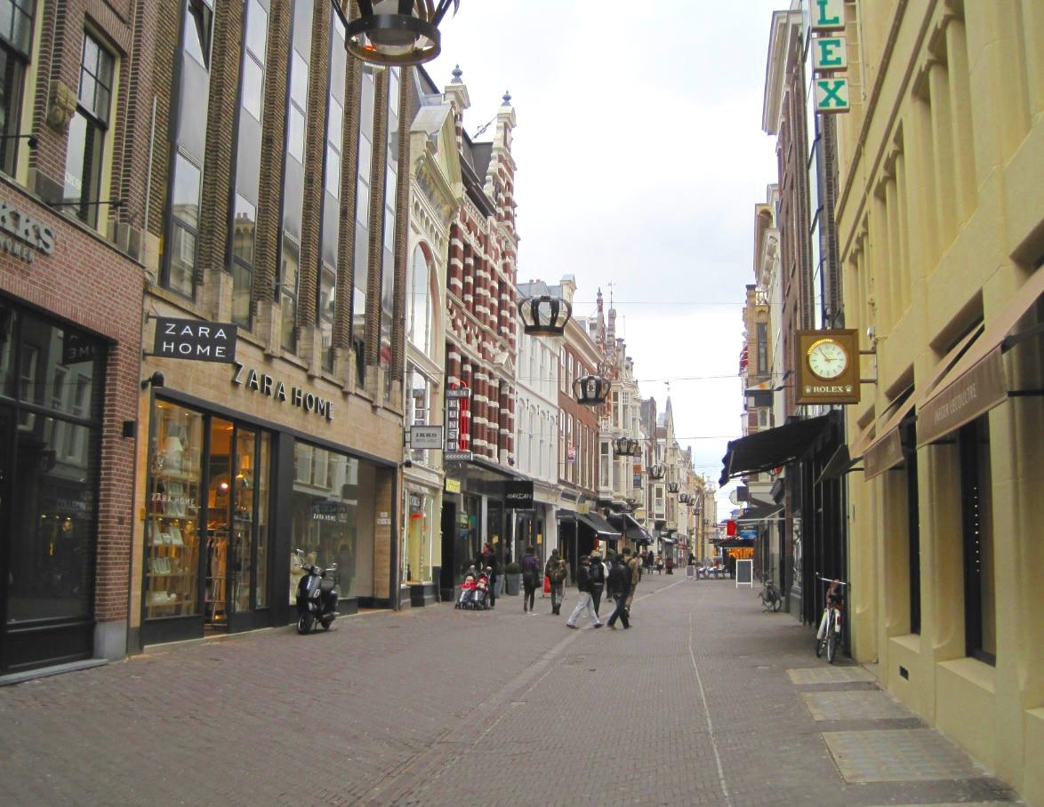 Einkaufsstraße in Den Haag