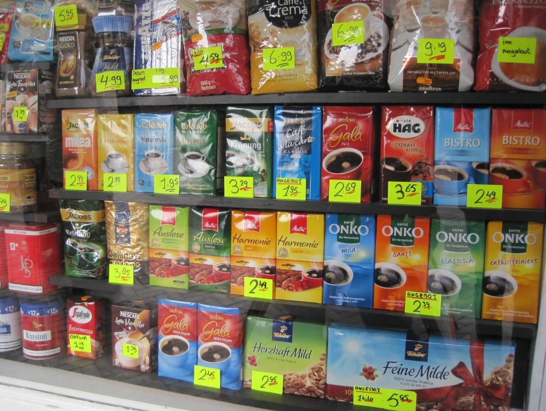 Kaffee Shopping in den Niederlanden