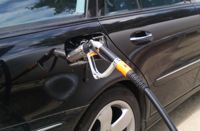 Autogas LPG tanken