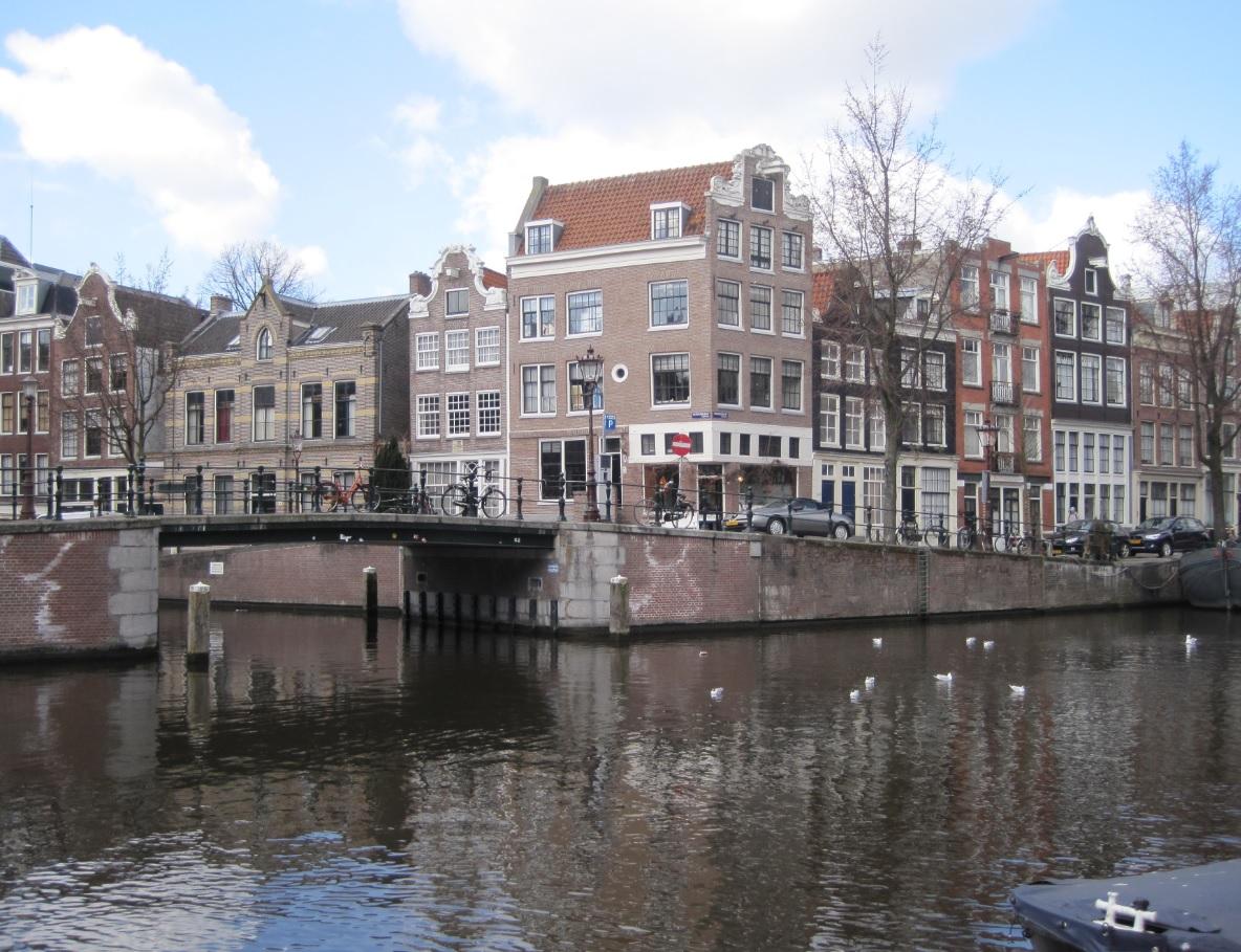 Grachten in Amsterdam 2015