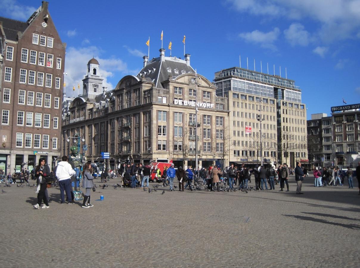 Im Herzen von Amsterdam