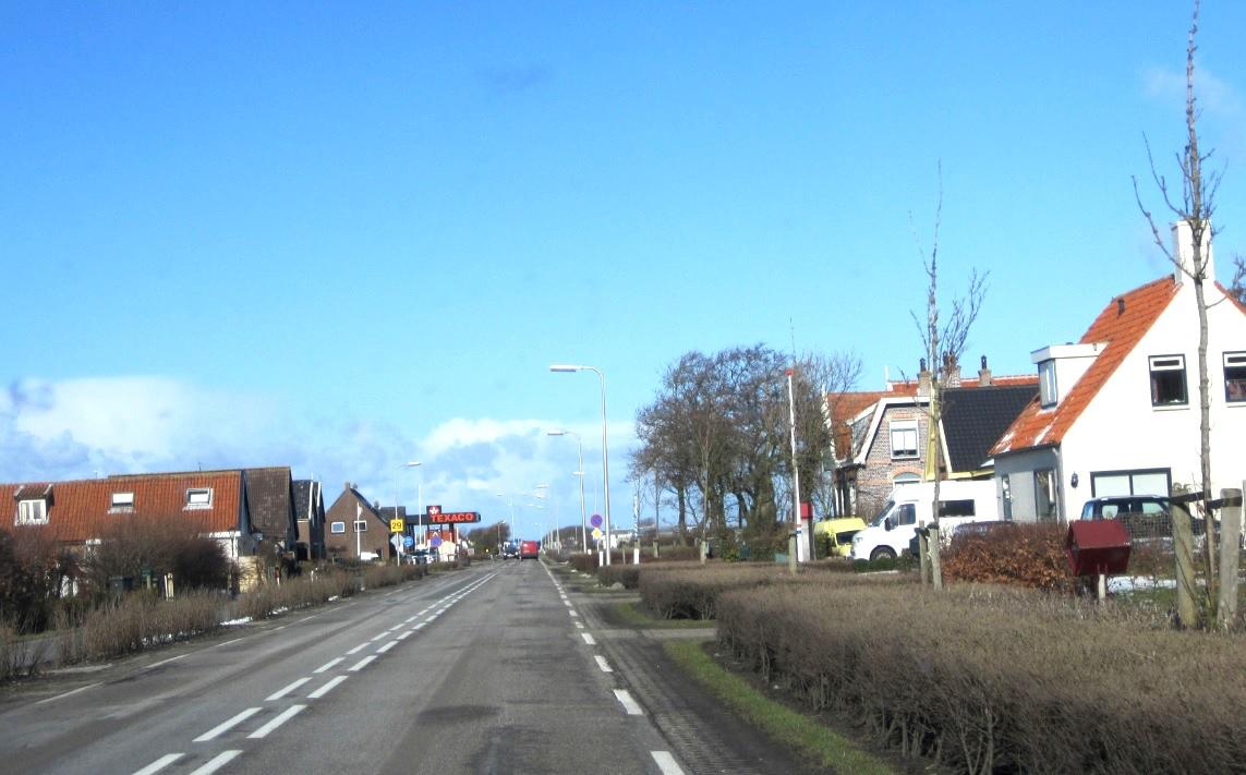 Tankstelle auf Texel