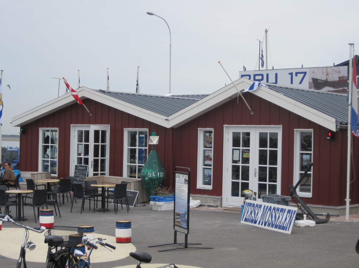 Bru 17 in Bruinisse Fischrestaurant