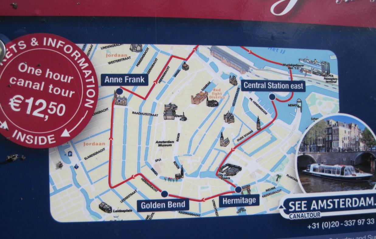 Bootstour durch Amsterdam