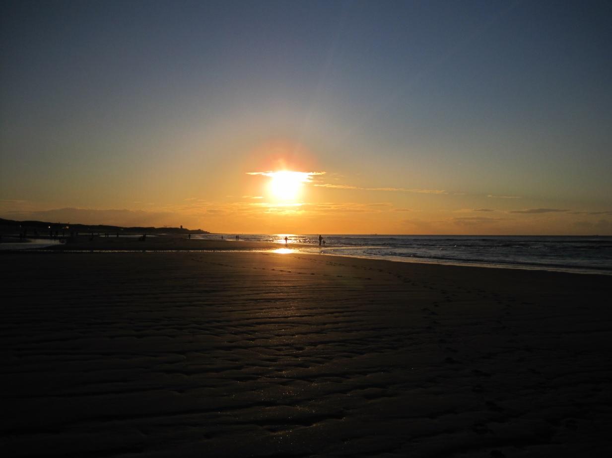 Sonnenuntergang in Oostkapelle