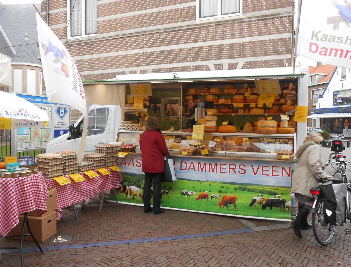 Wochenmarkt Niederlande