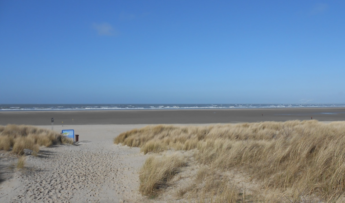 Sandstrand in Ouddorp