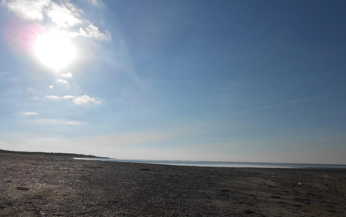 Strand von Ouddorp in den Niederlanden
