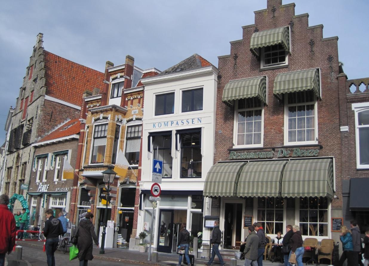 Häuser in Zierikzee