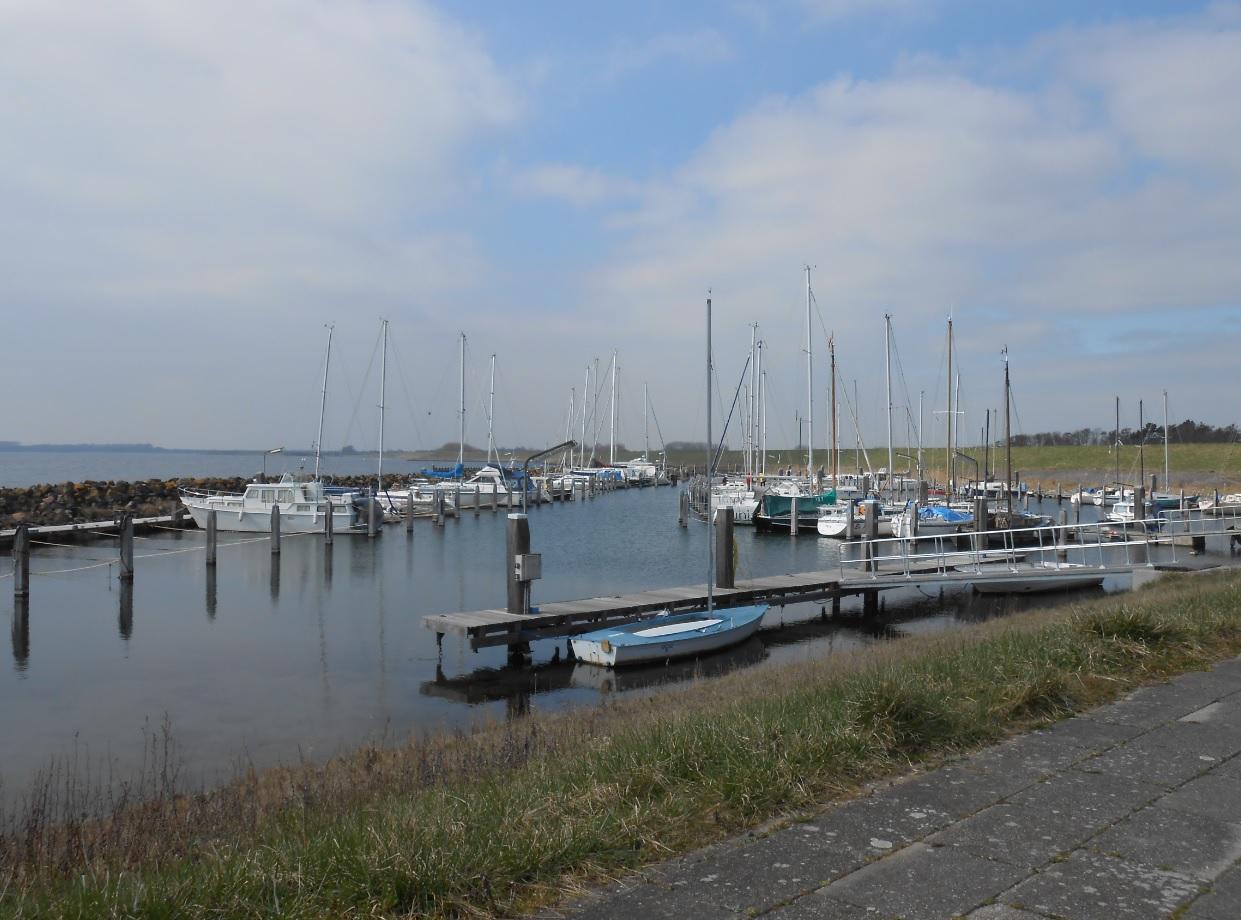Hafen am Grevelinger Meer in den Niederlanden