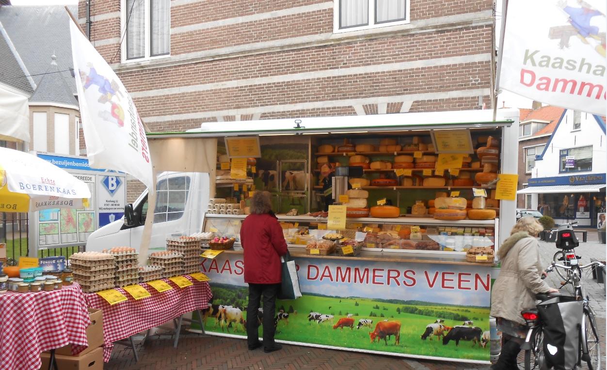 Käsemarkt in Holland