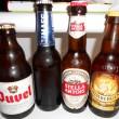 Bierflaschen aus Holland und Belgien