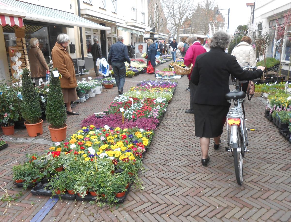 Wochenmarkt in den Niederlanden