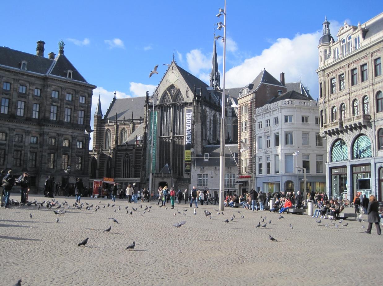 Autofreies Zentrum von Amsterdam
