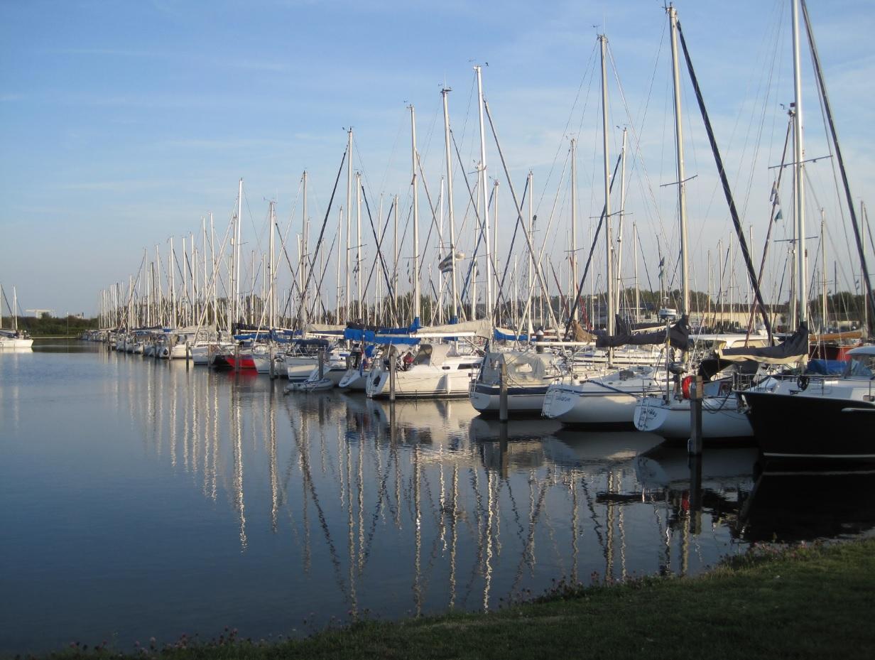 Segelhafen in Zeeland