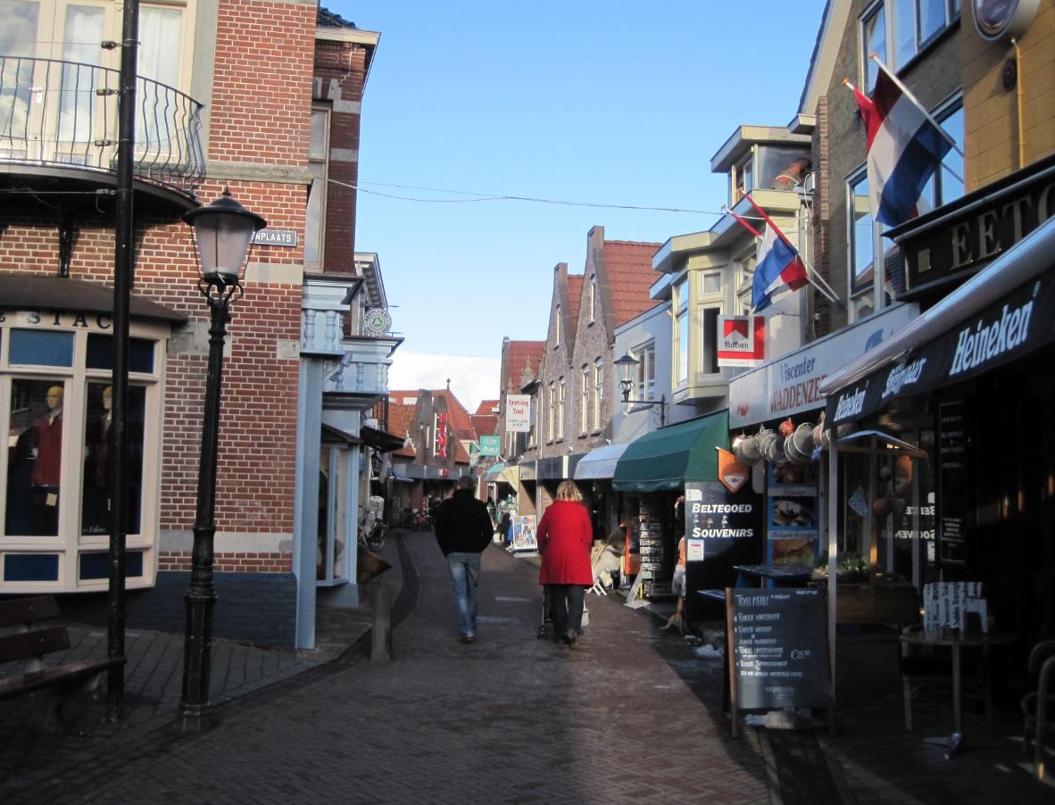 Zentrum Den Burg in Texel