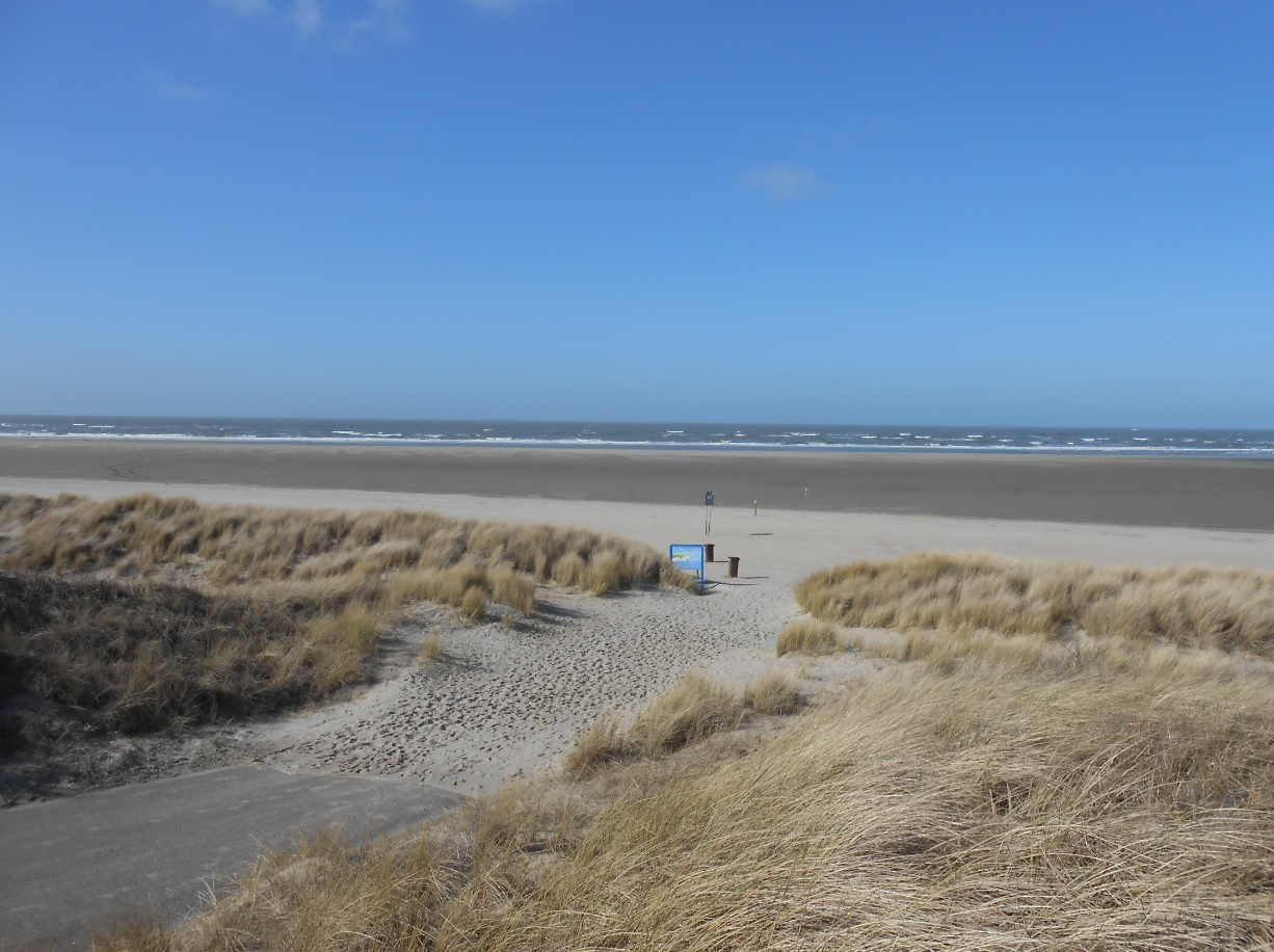 Badestrand in Ouddorp
